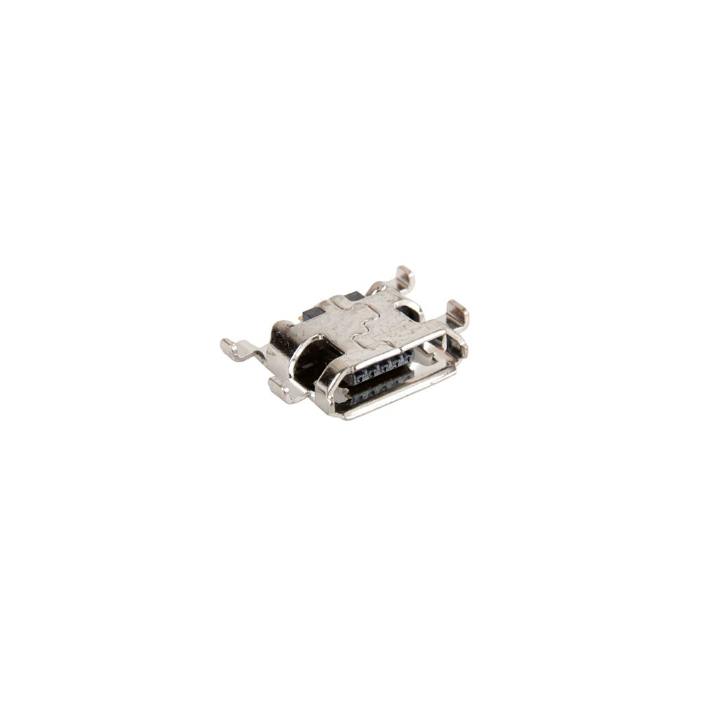 ЗАПЧАСТИ ДЛЯ СОТОВЫХ :: УНИВЕРСАЛЬНЫЕ ЗАПЧАСТИ :: РАЗЪЕМЫ ЗАРЯДКИ :: Разъем Micro USB Blackberry Z10 (5 pin)