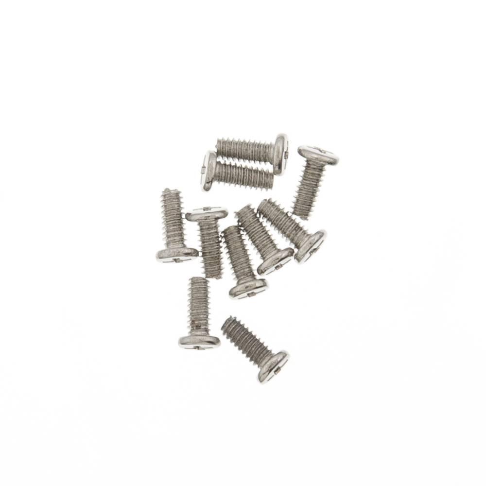 ЗАПЧАСТИ ДЛЯ СОТОВЫХ :: УНИВЕРСАЛЬНЫЕ ЗАПЧАСТИ :: ВИНТЫ :: Винты универсальные 1.4x3,5 мм (10шт) серебро