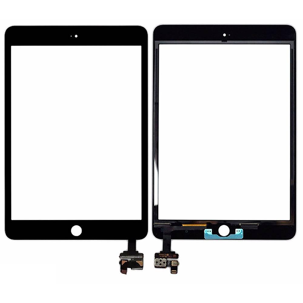 ЗАПЧАСТИ для APPLE и PSP :: ЗАПЧАСТИ для APPLE IPAD :: ТАЧСКРИНЫ для iPad :: Тачскрин для iPad Mini 3 Retina с контроллером (черный)