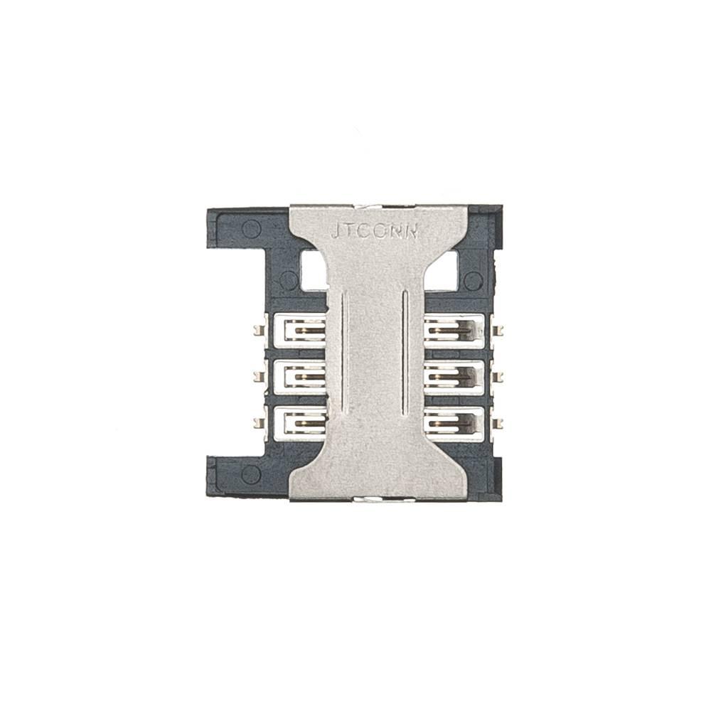 ЗАПЧАСТИ ДЛЯ СОТОВЫХ :: УНИВЕРСАЛЬНЫЕ ЗАПЧАСТИ :: КОННЕКТОРЫ SIM/КАРТЫ ПАМЯТИ :: Коннектор SIM Micromax Q346/Q341/Q327/Q414/Q326/S303/X249+/D306/Q333/Q334/X401/X352/X2050/X1800/S302