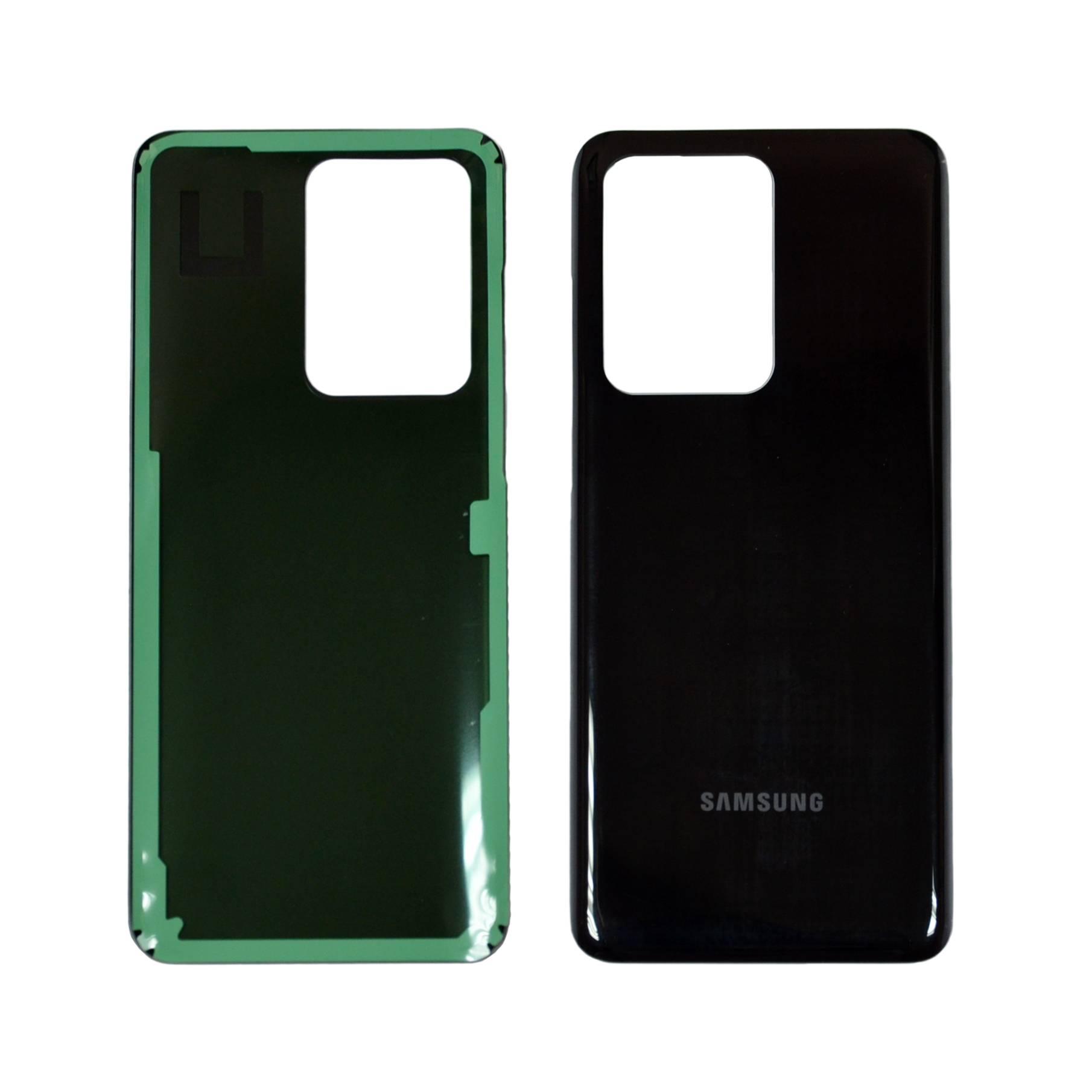ЗАПЧАСТИ ДЛЯ СОТОВЫХ :: ЗАПЧАСТИ ДЛЯ SAMSUNG :: ЗАДНИЕ КРЫШКИ :: Задняя крышка Samsung G988B/DS (S20 Ultra) черная