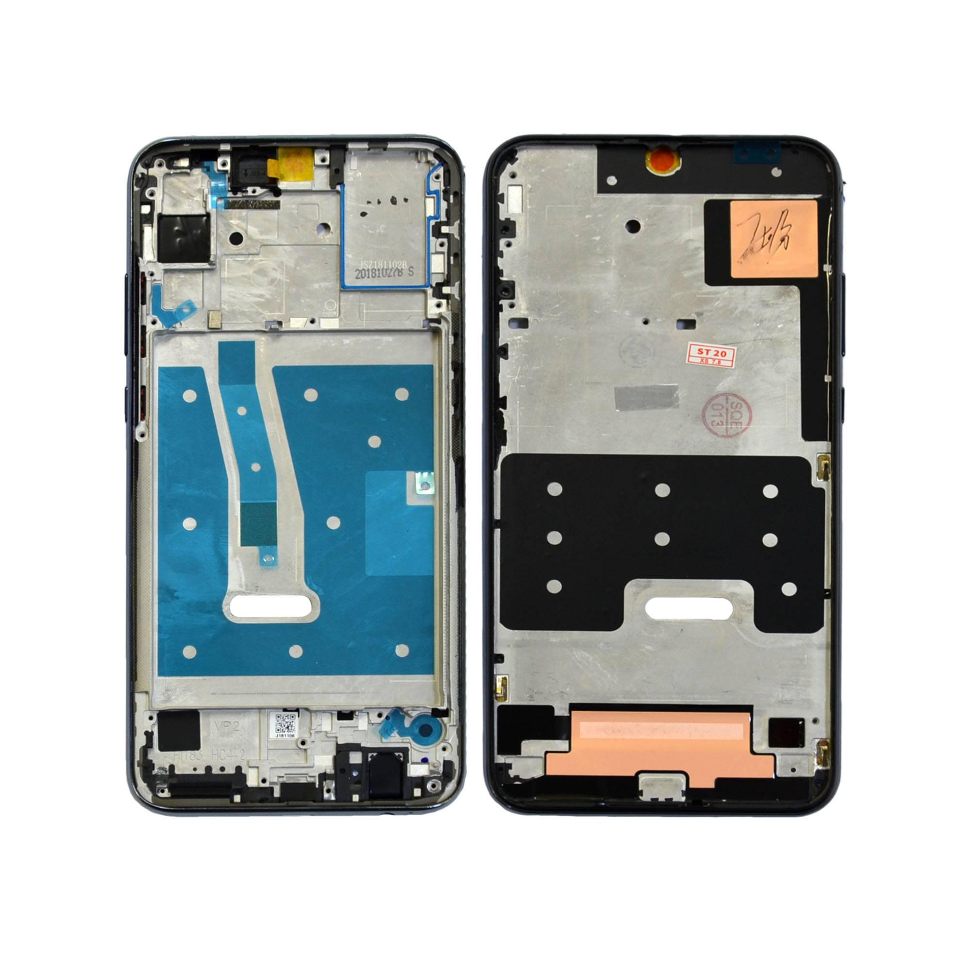 ЗАПЧАСТИ ДЛЯ СОТОВЫХ :: ЗАПЧАСТИ ДЛЯ HUAWEI :: ДИСПЛЕИ :: Рамка дисплея Huawei Honor 10i/Honor 10 Lite (черная) ориг 100%