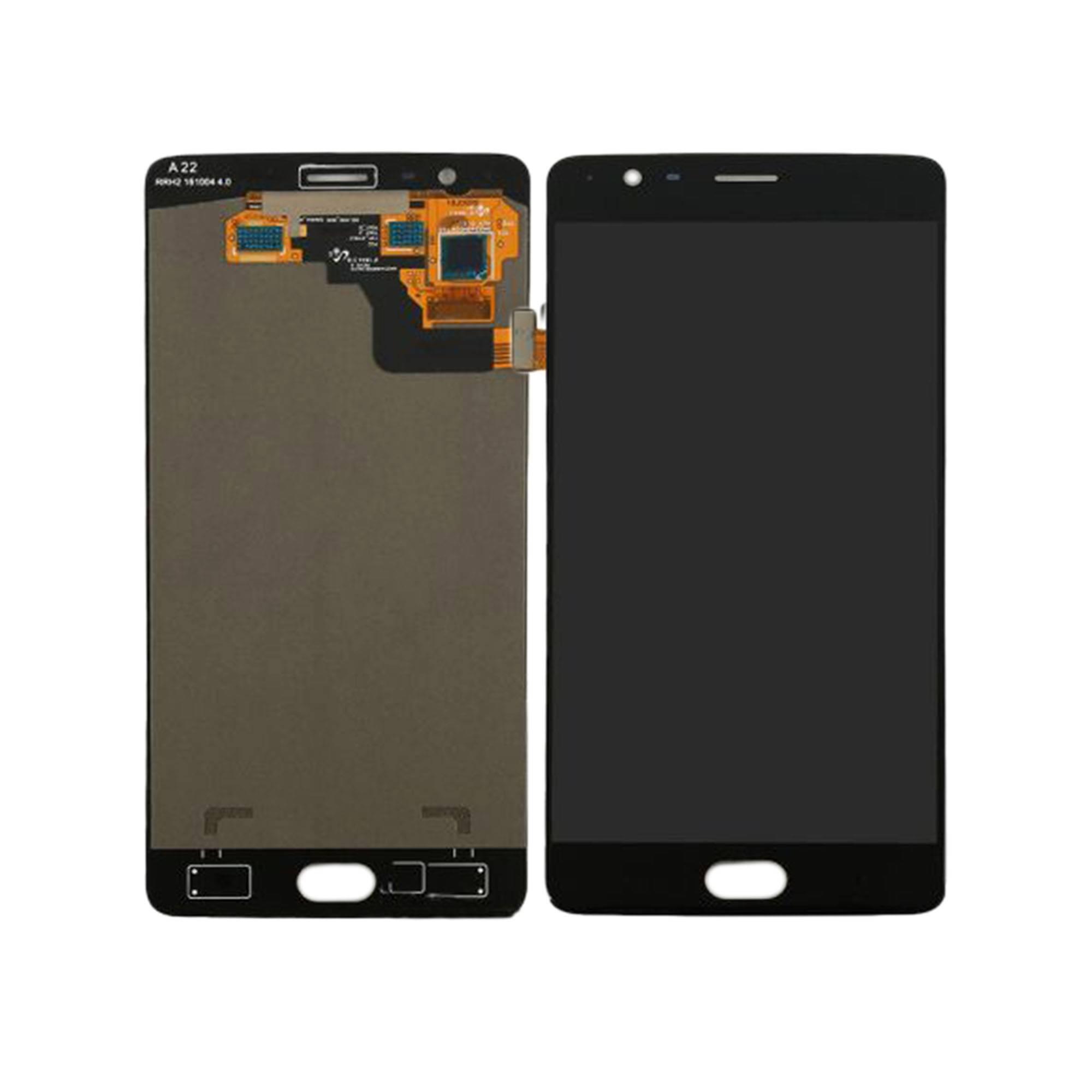 ЗАПЧАСТИ ДЛЯ СОТОВЫХ :: ЗАПЧАСТИ ДЛЯ ONEPLUS :: ДИСПЛЕЙ :: Дисплей OnePlus 3/3T в рамке+тачскрин (черный)