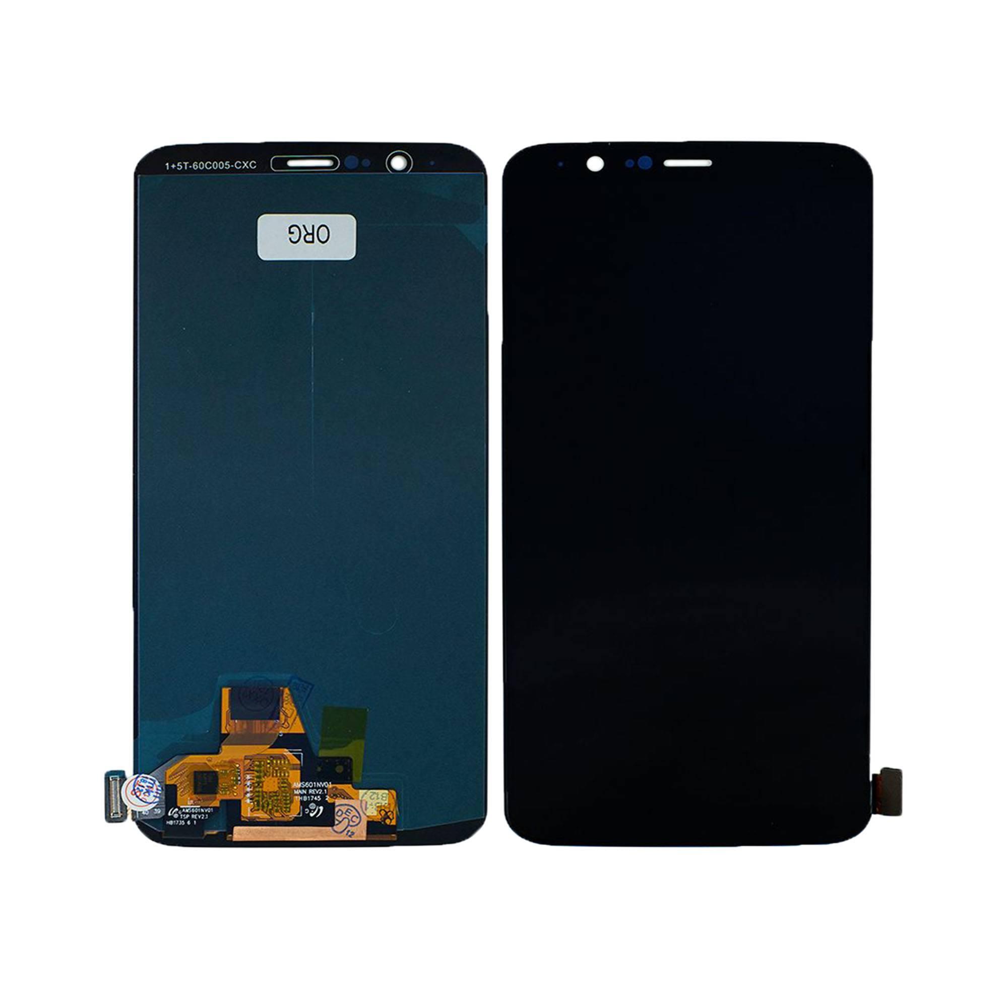 ЗАПЧАСТИ ДЛЯ СОТОВЫХ :: ЗАПЧАСТИ ДЛЯ ONEPLUS :: ДИСПЛЕЙ :: Дисплей OnePlus 5T+тачскрин (черный)